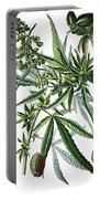 Cannabis Sativa Portable Battery Charger