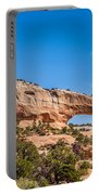 Canyon Badlands And Colorado Rockies Lanadscape Portable Battery Charger