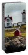 Cape Neddick Lighthouse 4 Portable Battery Charger