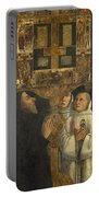 Cardinal Bessarion With The Bessarion Reliquary Portable Battery Charger
