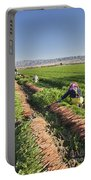 Carrot Harvest Portable Battery Charger