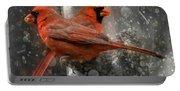 Cary Carolina Cardinals  Portable Battery Charger