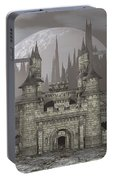 Castle By Night - 3d Render Portable Battery Charger