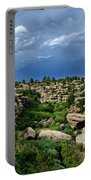 Castlewood Canyon And Rain Portable Battery Charger