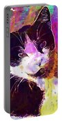 Cat Feline Pet Animal Cute  Portable Battery Charger