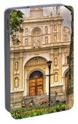 Catedral Antigua Guatemala - Guatemala Vii Portable Battery Charger