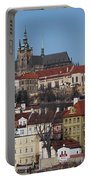 Cathedral Of St Vitus Portable Battery Charger by Michal Boubin