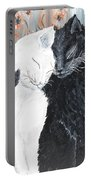 Cats  In Love Portable Battery Charger