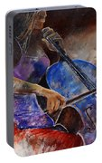 Cello Player  Portable Battery Charger