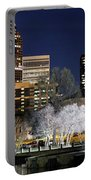 Charlotte Skyline Panorama Portable Battery Charger