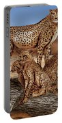 Cheetah Family Tree Portable Battery Charger