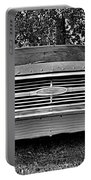 Chevrolet Bel Air Black And White 2 Portable Battery Charger