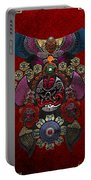 Chinese Masks - Large Masks Series - The Demon Portable Battery Charger by Serge Averbukh
