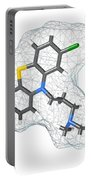 Chlorpromazine, Molecular Model Portable Battery Charger