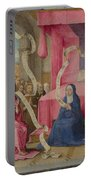 Christ Appearing To The Virgin Portable Battery Charger