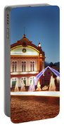 Christmas In Ribeira Grande Portable Battery Charger