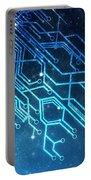 Circuit Board Technology Portable Battery Charger by Setsiri Silapasuwanchai