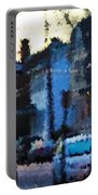 City As A Painting Portable Battery Charger
