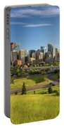 City Skyline Of Calgary, Canada Portable Battery Charger