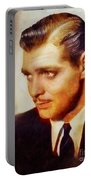 Clark Gable, Vintage Hollywood Actor Portable Battery Charger