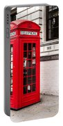 Classic Red London Telephone Box Portable Battery Charger