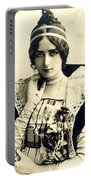 Cleo De Merode Portable Battery Charger