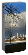 Cleveland Winter Dawn Portable Battery Charger