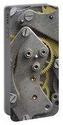 Clockwork Mechanism Portable Battery Charger