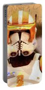 Clone Trooper Commander - Free Style Style Portable Battery Charger