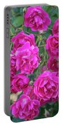 Cluster Of Roses Portable Battery Charger