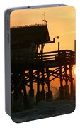 Cocoa Beach Pier/sunrise Portable Battery Charger