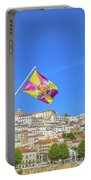 Coimbra Skyline Portugal Portable Battery Charger