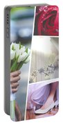 Collage Of Wedding Time Sensational Portable Battery Charger