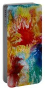 Color Abstracts Portable Battery Charger