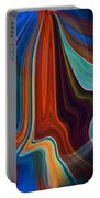 Color Me Abstract Portable Battery Charger