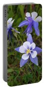 Colorado Columbine Portable Battery Charger