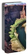 Colorado River Flows Around Horseshoe Bend  Portable Battery Charger