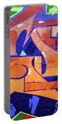 Colorful Abstract Street Art  Portable Battery Charger