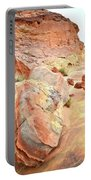 Colorful Boulders In Wash 3 In Valley Of Fire Portable Battery Charger