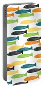 Colorful Fish  Portable Battery Charger