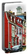 Colorful Houses In St. Johns In Newfoundland Portable Battery Charger