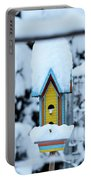 Colors In The Snow Portable Battery Charger