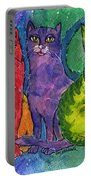 Colourful Cats Portable Battery Charger