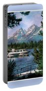 Colter Bay In The Tetons Portable Battery Charger