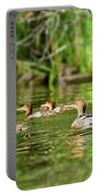 Common Merganser Portable Battery Charger