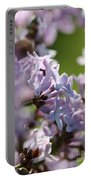 Common Purple Lilac Portable Battery Charger