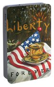 Contemplating Liberty Portable Battery Charger