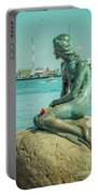 Copenhagen Little Mermaid Portable Battery Charger