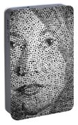 Photograph Of Cork Art Portable Battery Charger