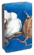 Cotton Picking Blues Portable Battery Charger